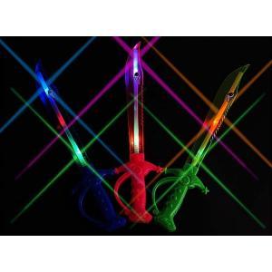 光る シャーク剣(24個入)光るおもちゃ 景品 子ども会 縁日用品 お祭り|nichokichi
