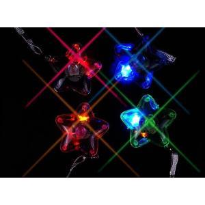 景品玩具まとめ買い・光るおもちゃのまとめ買い 光るスターペンダント(36個入り)|nichokichi