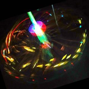 光る ハナビ棒のおもちゃ ( 20入 )  光るおもちゃ 景品 子ども会 子供会 縁日 ペンダント 不良返品不可|nichokichi