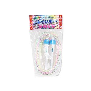 レインボー なわとび(12個入) 玩具 おもちゃ 景品玩具  縁日 お祭り くじ引き お子様ランチ 子供会|nichokichi