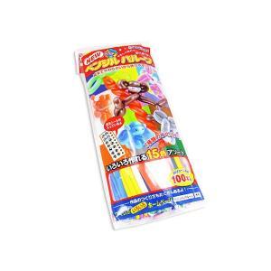 【エア玩具・風船】バルーンアートたのしい。ペンシルバルーン(100個入)【鈴木】|nichokichi