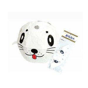 景品玩具・エア・紙風船系のおもちゃ アニマル紙風船 アザラシ(12個入) nichokichi