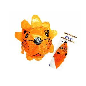 景品玩具・エア・紙風船系のおもちゃ アニマル紙風船 ライオン(12個入) nichokichi