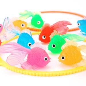 ぷかぷか 金魚  すくい( 100個入 ) 景品 スーパーボール すくい まとめ買い 玩具 縁日 お祭り|nichokichi