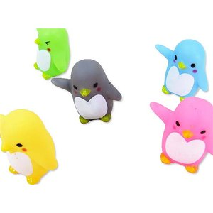 笛付 ぷかぷか ペンギン(50個入)スーパーボール すくい 景品 玩具 おもちゃ 縁日 お祭り カラフル|nichokichi