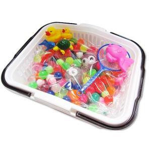 わくわくスーパーボール セット 500入 かご入+おまけ すくい 景品 玩具 おもちゃ 縁日 お祭り イベント おまけ 子供会 nichokichi