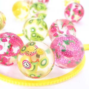 スーパーボール 27mm クリスタル フルーツ  スーパーボール ( 100個入) すくい 縁日 お祭り イベント おまけ 子供会 景品 玩具 おもちゃ nichokichi