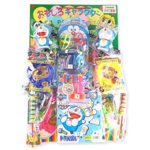 当てものくじ・男の子用の台紙 おもしろキャラクター ドラえもん当くじおもちゃ (100+5付) nichokichi