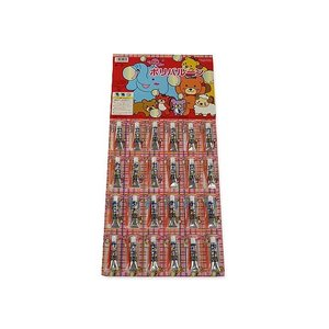 景品玩具まとめ買い・当てものくじ・台紙系のおもちゃ ポリバルーン(1枚24付) nichokichi