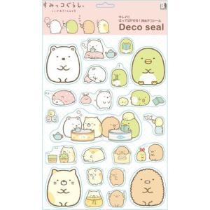 すみっコぐらし 防水デコシール B.ピンク DSSG-02|nico-marche