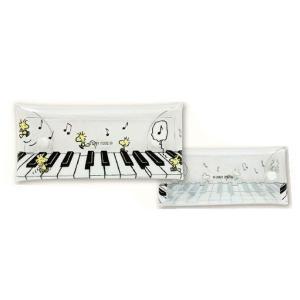 スヌーピー クリアマルチケース ウッドストックシリーズ ピアノ SPZ-1764|nico-marche