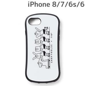 CRAFTHOLIC (クラフトホリック) x Seiji Matsumoto iPhone8 iPhone7 iPhone6 iPhone6s (4.7インチ) 専用 ガラスケース skater J4723-1|nico-marche