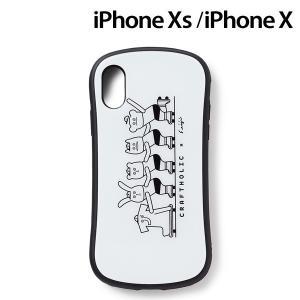CRAFTHOLIC (クラフトホリック) x Seiji Matsumoto iPhoneXS iPhoneX (5.8インチ) 専用 ガラスケース skater J4724-1|nico-marche