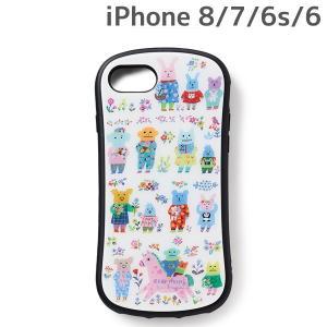 CRAFTHOLIC (クラフトホリック) x YUMI KITAGISHI iPhone8 iPhone7 iPhone6 iPhone6s (4.7インチ) 専用 ガラスケース party J4723-20|nico-marche