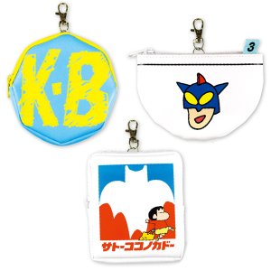 クレヨンしんちゃん 合皮パスケース KS-5533562KB/KS-5533563SK/KS-5533564AP|nico-marche