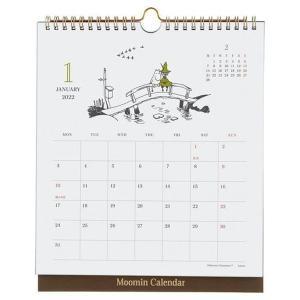 ムーミン 2022年 壁掛け小説カレンダー 月曜始まり M14-077 nico-marche