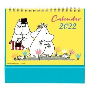 ムーミン 2022年 卓上 原画ポップアップカレンダー DM12-006|nico-marche
