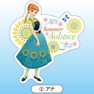 ディズニー アナと雪の女王 エルサのサプライズ ダイカットステッカー アナ|nico-marche