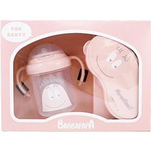バーバパパ ベビーギフトセット ピンク BPU-2002|nico-marche