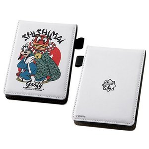 ☆ ディズニー ICカードポケット付メモパッド 和/グーフィー IN-DA11J/GF nico-marche