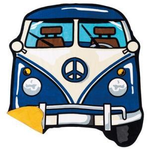 ☆ ダイカットビーチタオル ブルーバス 0135011200|nico-marche