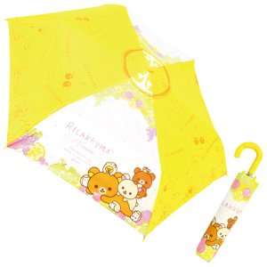 リラックマ キャラクター 折畳傘 フルーツ 90362|nico-marche