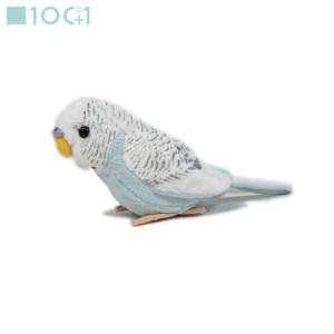 ☆ぬいぐるみ101 鳥のぬいぐるみ セキセイインコ(ブルー) SM042|nico-marche