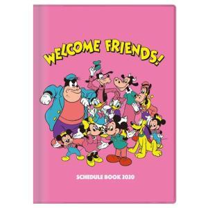 ディズニー (2019年10月始まり) 2020年 スケジュール帳 手帳 月間B6 DC スタンダード 集合 S2949326|nico-marche