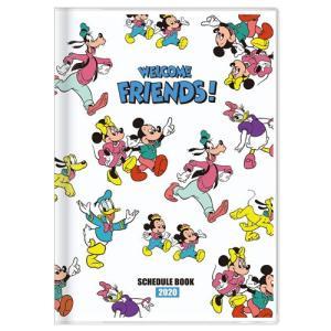 ディズニー (2019年10月始まり) 2020年 スケジュール帳 手帳 月間B6 DC スタンダード チラシ S2949342|nico-marche