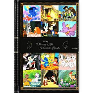 ディズニー 【2019年12月始まり】 2020年 スケジュール帳 1日1ページ手帳 B6サイズ ブラック DZ-80491 (メール便送料無料)|nico-marche