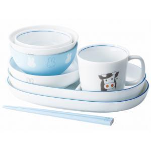ミッフィーイングレーズ どうぶつ つみつみ食器セット 429723|nico-marche