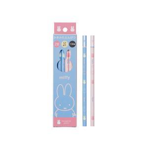 ミッフィー (miffy) かきかた鉛筆 紙箱入 2B MF511 nico-marche