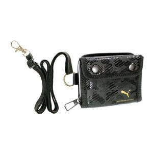 PUMA(プーマ) ラージコインポケットウォレット 黒 PM299BK nico-marche