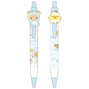 (7月上旬〜中旬入荷) リラックマ リラックマのきょうりゅうごっこテーマ マスコット付ボールペン PR00101/PR00102|nico-marche