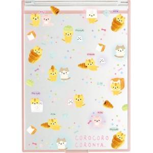 (8) ころころコロニャ ぷらむちゃんがコロニャのパンニャさんにあそびにきたニャテーマ デイリーケアアイテム スタンドミラー FE22001|nico-marche