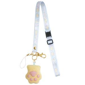 (9) ころころコロニャ ちびっコロニャテーマ 肉球ぷにぷにネックストラップ AY39801|nico-marche
