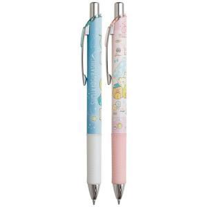 (5) すみっコぐらし かわうそとすみっコキャンプテーマ エナージェルシャープペン 2本セット PN41001|nico-marche