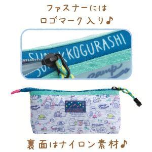 (5) すみっコぐらし かわうそとすみっコキャンプテーマ スリーポケットペンポーチ PY83101 nico-marche 03