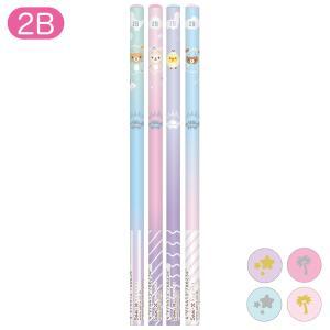 (7月上旬〜中旬入荷) リラックマ リラックマのきょうりゅうごっこテーマ 鉛筆 (2B) 4本セット PH00101|nico-marche