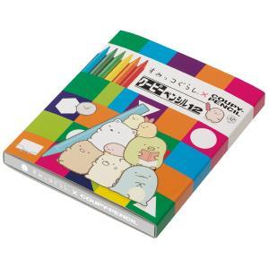 (9) すみっコぐらし キャラミックス クーピーペンシル 12色 PH01102|nico-marche