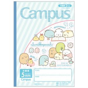 (9) すみっコぐらし キャラミックス Campusノート (方眼ノート) NY29901|nico-marche