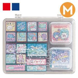 (11) じんべえさん じんべえさんと星空ぺんぎんテーマ スタンプマーケット スタンプセット FT60404|nico-marche