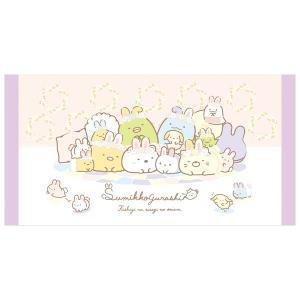 (4) すみっコぐらし ふしぎなうさぎのおにわテーマ サマーグッズ バスタオル (M) CM32002|nico-marche