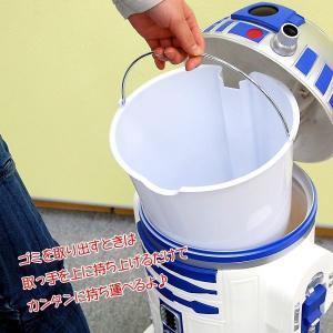 (送料無料) STAR WARS (スターウォーズ) R2-D2 WASTEBASKET ごみ箱 R2-D2WB-06|nico-marche|03