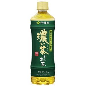 伊藤園 お〜いお茶 濃い茶 (525ml PET 24本) 【おーいお茶 濃い味 濃茶】|nico25