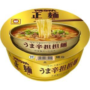 マルちゃん正麺 カップ うま辛担担麺 (120g カップ 12個)|nico25