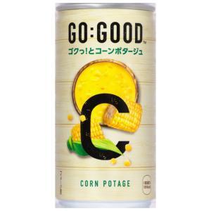 [コカ・コーラ] GO:GOOD ゴクっ!とコーンポタージュ 190g 缶 30本入り|nico25