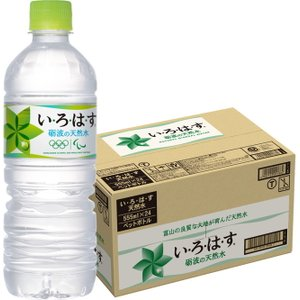 [コカ・コーラ] い・ろ・は・す 天然水 /いろはす 天然水 555ml PET 24本入り|nico25