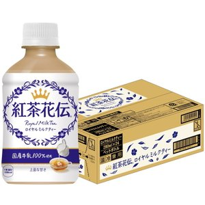 [コカ・コーラ] 紅茶花伝 ロイヤルミルクティー [ROYAL MILK TEA] 温冷兼用 280ml PET 24本入り|nico25