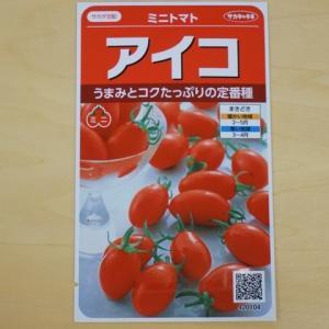 ミニトマト 種 アイコ  サカタ交配 トマト サカタのタネ 種子 追跡可能メール便選択可